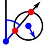 Schnittpunkt von Linie und Kreis