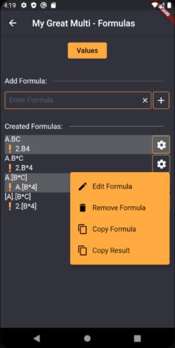 Formeln kopieren